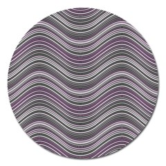Abstraction Magnet 5  (Round)