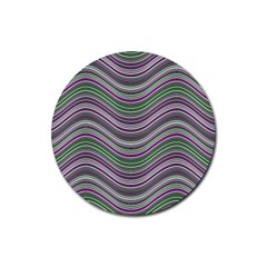 Abstraction Rubber Coaster (Round)