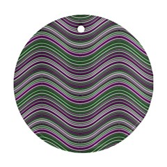Abstraction Round Ornament (Two Sides)