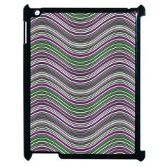 Abstraction Apple iPad 2 Case (Black)