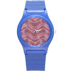 Abstraction Round Plastic Sport Watch (S)