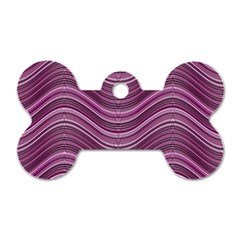 Abstraction Dog Tag Bone (One Side)