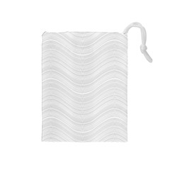 Abstraction Drawstring Pouches (Medium)
