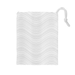 Abstraction Drawstring Pouches (Large)