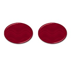 Abstraction Cufflinks (Oval)