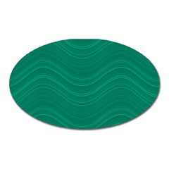 Abstraction Oval Magnet
