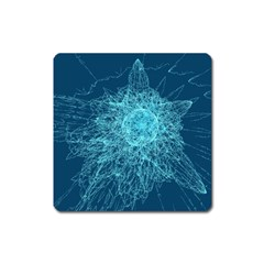 Shattered Glass Square Magnet