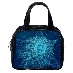 Shattered Glass Classic Handbags (One Side)