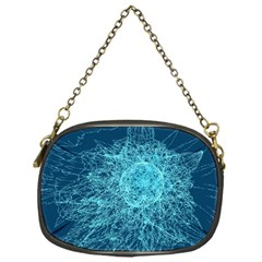 Shattered Glass Chain Purses (one Side)