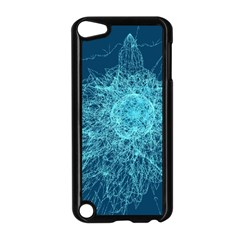Shattered Glass Apple iPod Touch 5 Case (Black)