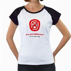 No No Smoking Women s Cap Sleeve T