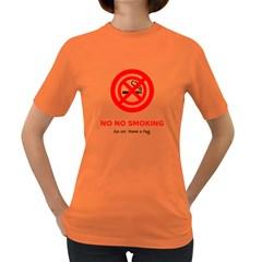 No No Smoking Women s Dark T-Shirt