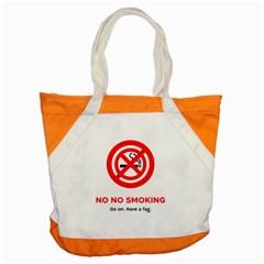 No No Smoking Accent Tote Bag