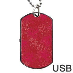 Abstraction Dog Tag USB Flash (One Side)