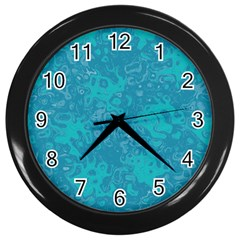 Abstraction Wall Clocks (Black)