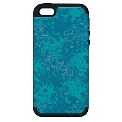Abstraction Apple Iphone 5 Hardshell Case (pc+silicone)