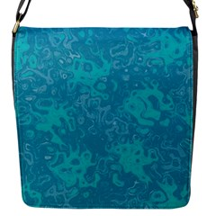 Abstraction Flap Messenger Bag (S)