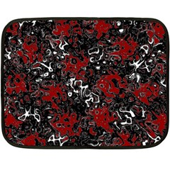 Abstraction Double Sided Fleece Blanket (Mini)
