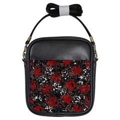 Abstraction Girls Sling Bags