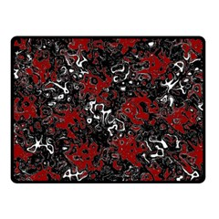 Abstraction Double Sided Fleece Blanket (Small)