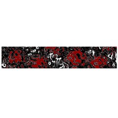 Abstraction Flano Scarf (large)