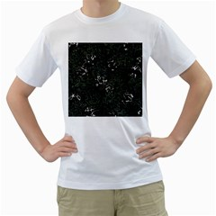 Abstraction Men s T-Shirt (White) (Two Sided)
