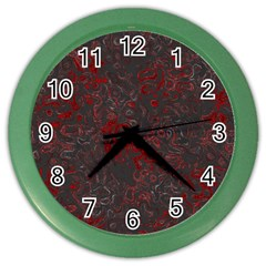 Abstraction Color Wall Clocks
