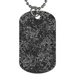 Abstraction Dog Tag (Two Sides) Front