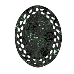 Abstraction Ornament (Oval Filigree)