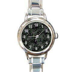Abstraction Round Italian Charm Watch