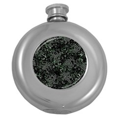 Abstraction Round Hip Flask (5 oz)