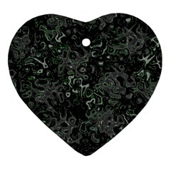 Abstraction Heart Ornament (Two Sides)