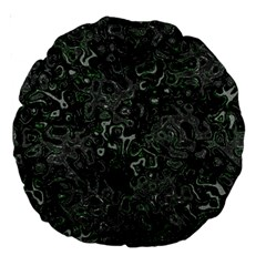 Abstraction Large 18  Premium Round Cushions