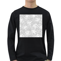 Abstraction Long Sleeve Dark T-Shirts