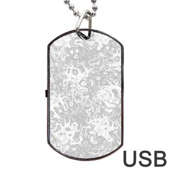 Abstraction Dog Tag USB Flash (Two Sides)