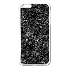 Abstraction Apple iPhone 6 Plus/6S Plus Enamel White Case