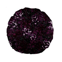 Abstraction Standard 15  Premium Round Cushions