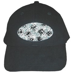 Abstraction Black Cap