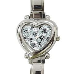 Abstraction Heart Italian Charm Watch
