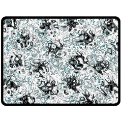 Abstraction Fleece Blanket (Large)