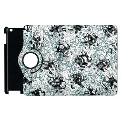 Abstraction Apple iPad 3/4 Flip 360 Case