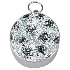 Abstraction Silver Compasses