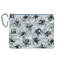 Abstraction Canvas Cosmetic Bag (XL)