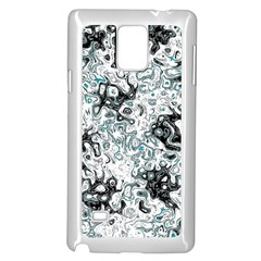 Abstraction Samsung Galaxy Note 4 Case (White)