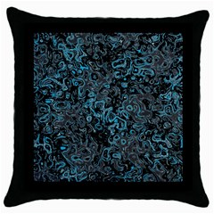 Abstraction Throw Pillow Case (Black)