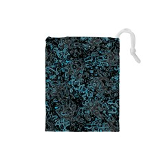 Abstraction Drawstring Pouches (Small)