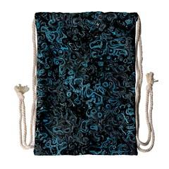 Abstraction Drawstring Bag (Large)