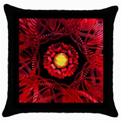 The Sun Is The Center Throw Pillow Case (Black)