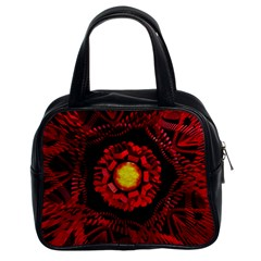 The Sun Is The Center Classic Handbags (2 Sides)