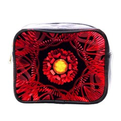 The Sun Is The Center Mini Toiletries Bags
